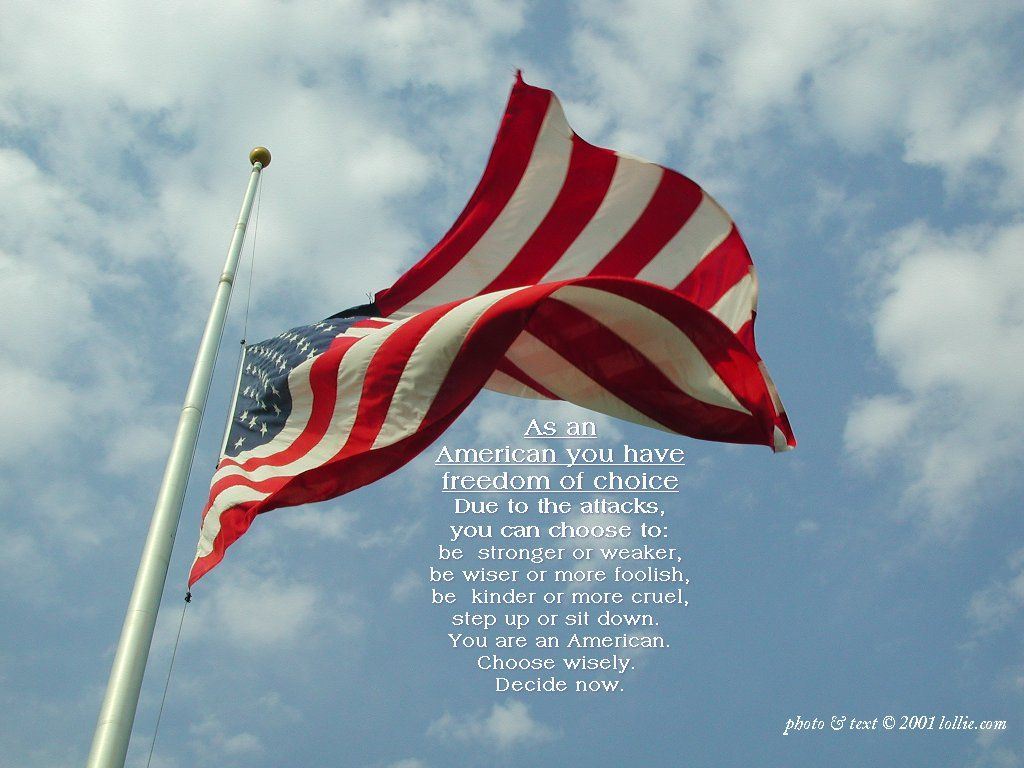 September 11 Desktop American Choice Backgrounds Desktop Photo Choose Wisely