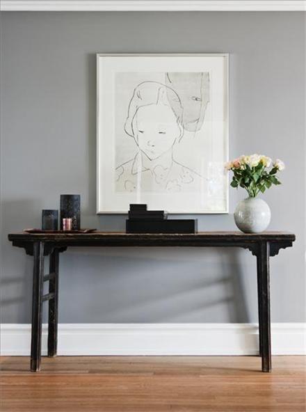 Pavilion gray Farrow and ball | esszimmer | Pinterest | Wandfarben ...