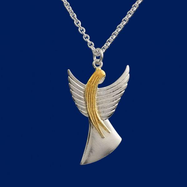 Guardian Angel, big pendant. Design Seppo Penttinen. www.taigakoru.fi