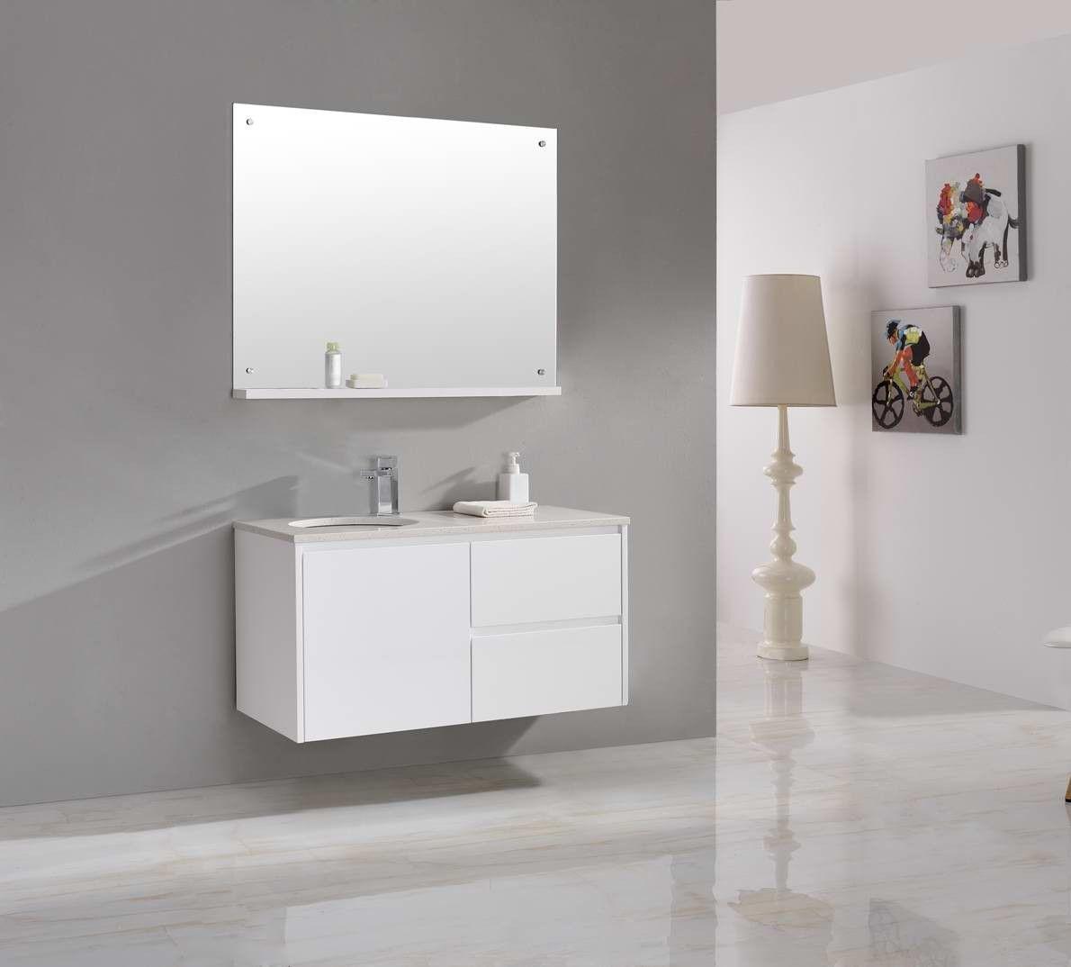 Luxor 1000mm Vanity White   Bathroom Design   Pinterest   Vanities ...