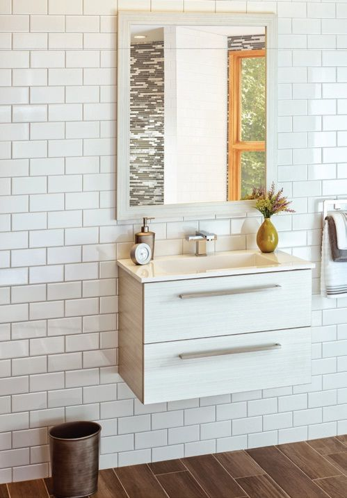 A white chocolate vanity with cultured marble top Itu0027s perfect