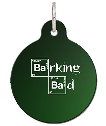Funny Pet Tag Barking Bad Custom Pet Tag Dog Tag Learn More By