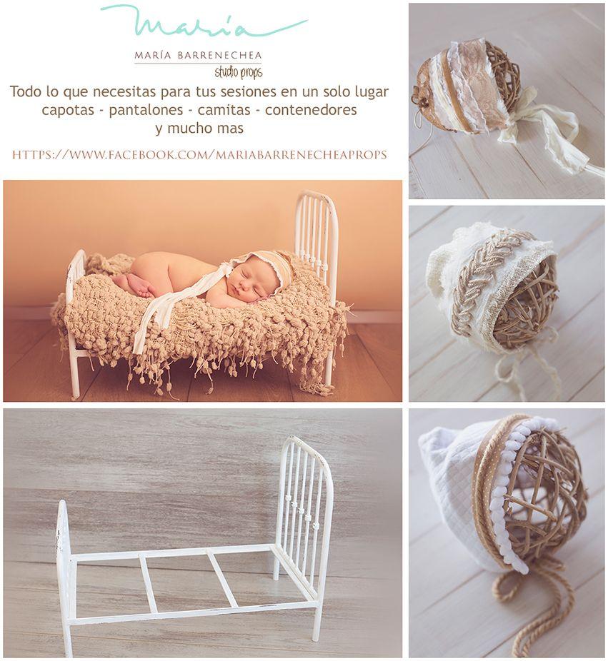 Photography Newborn and Maternity Props. Accesorios para fotografia de recien nacido y maternidad. #newbornprop #newbornprops #props #MyOwnProp #MariaBarrenecheaStudioProps #accesorios #capotas #beds