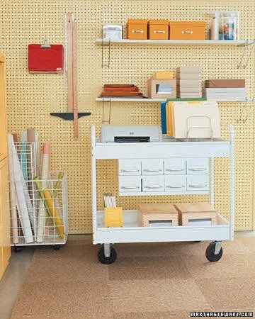 Office on Wheels: 8 Great-Looking Mobile Workstations | Apartment Therapy