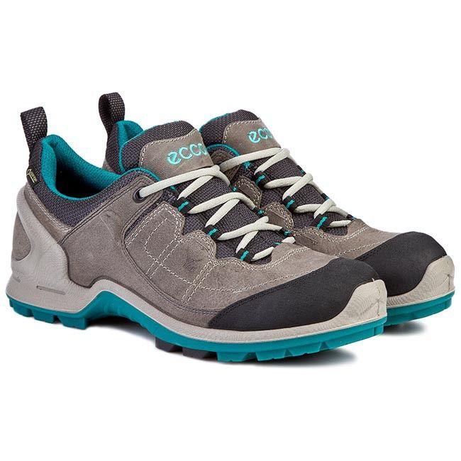 Trekkingi Ecco Biom Terrain 82354356340 Black Dark Shadow Plaskie Polbuty Damskie Www Eobuwie Com Pl Dark Black Black Hiking Boots