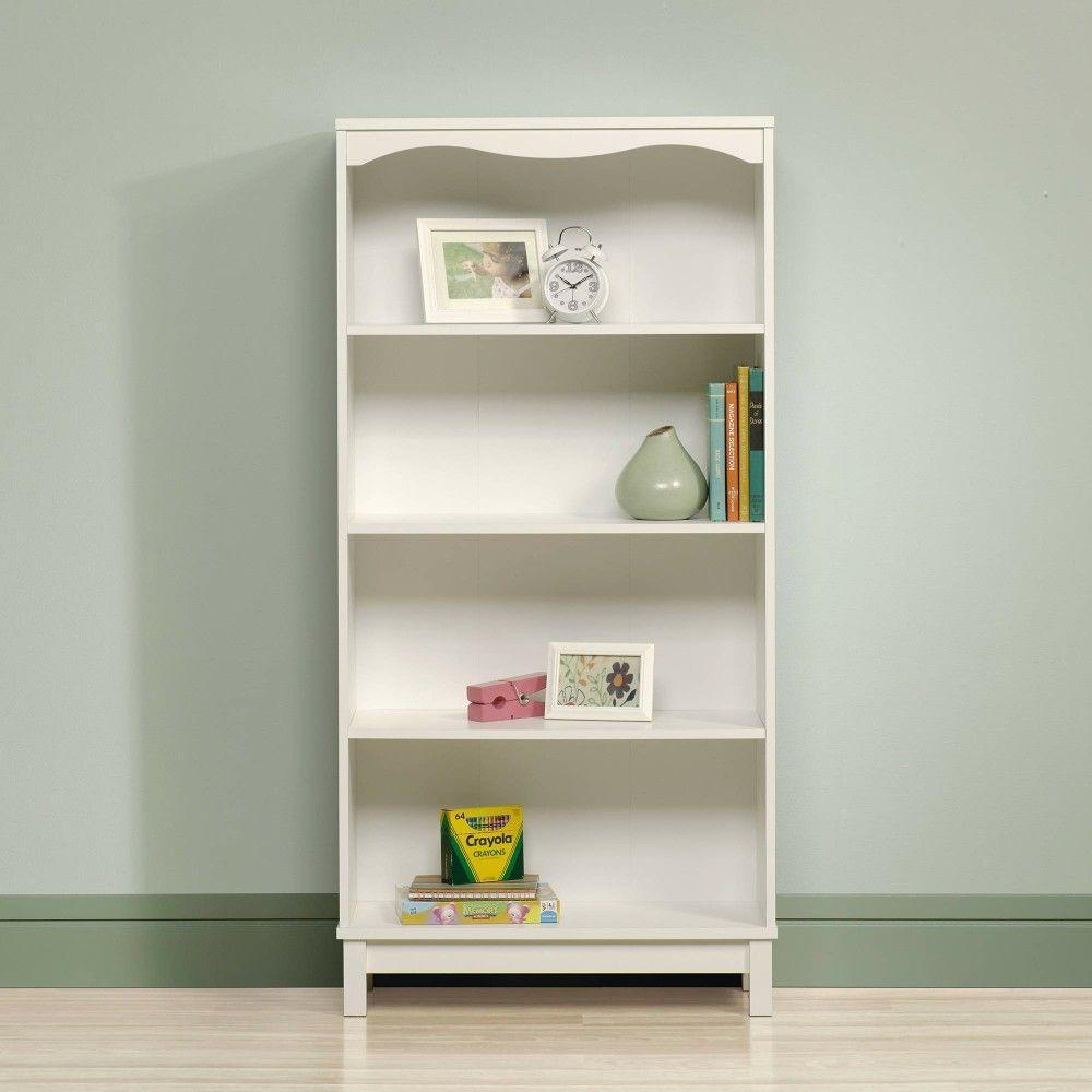 Sauder 418526 Storybook Adjustable 4 Shelves Bookcase