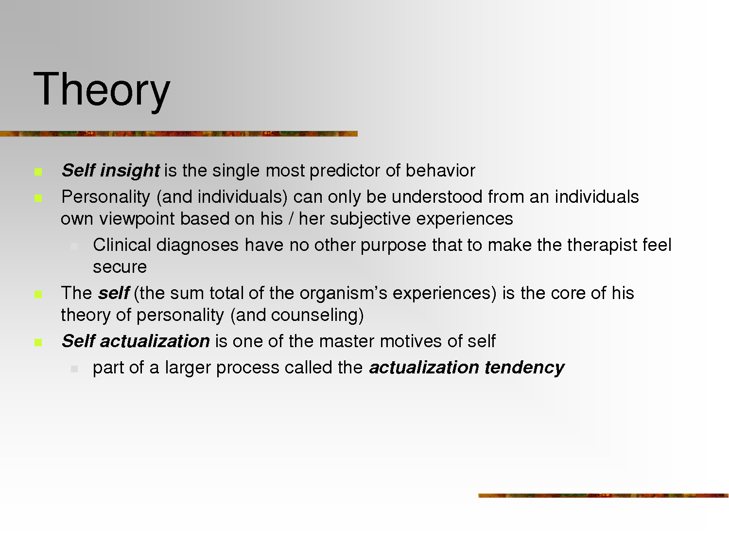 personal counseling theory of change essay My personal counselling theory is comprised of albert ellis' rational emotive behavioral therapy (rebt) and alfred adler's individual psychology i will.