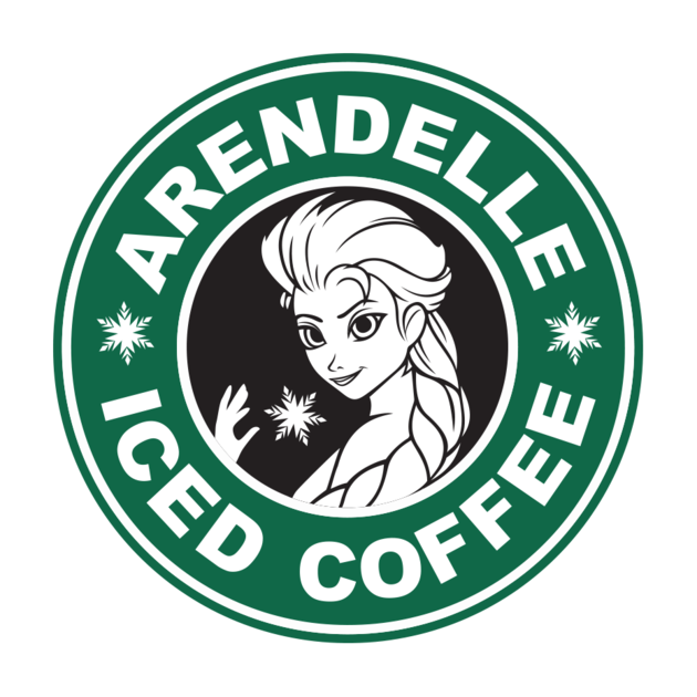 Check out this awesome 'Iced+Coffee' design on TeePublic