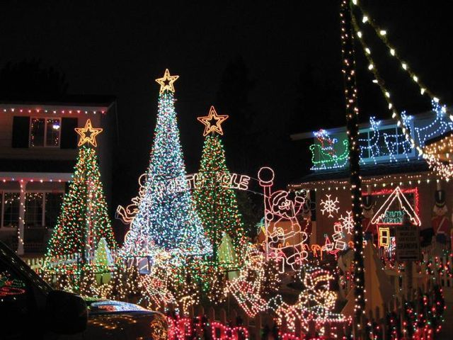 Christmas Lights Bay Area Merry & Bright The Best Holiday Light Displays In The Bay