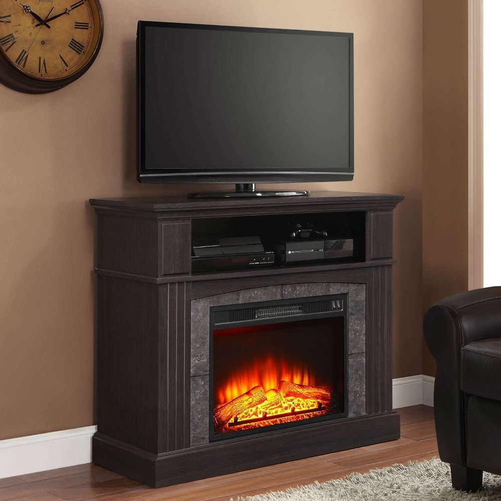 Media Fireplace For Your Home Television Stand Fits Tvs Up To 50