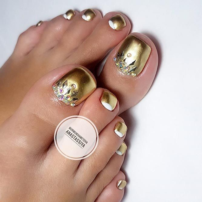 Over 50 Incredible Toe Nail Designs For Your Perfect Feet Nail Art