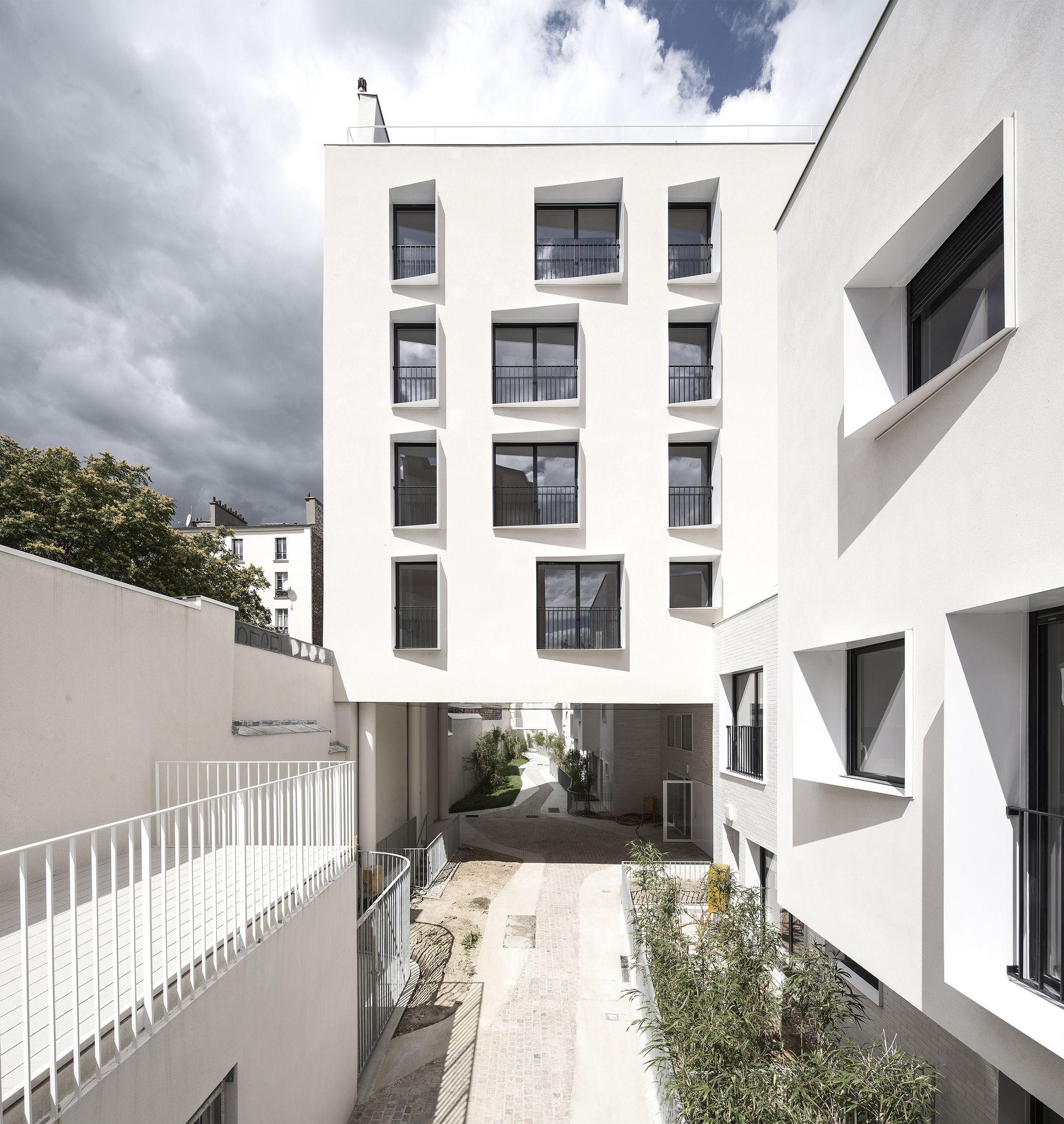 33 unidades de vivienda nuevas y rehabilitadas antonini darmon architectes arquitectura. Black Bedroom Furniture Sets. Home Design Ideas