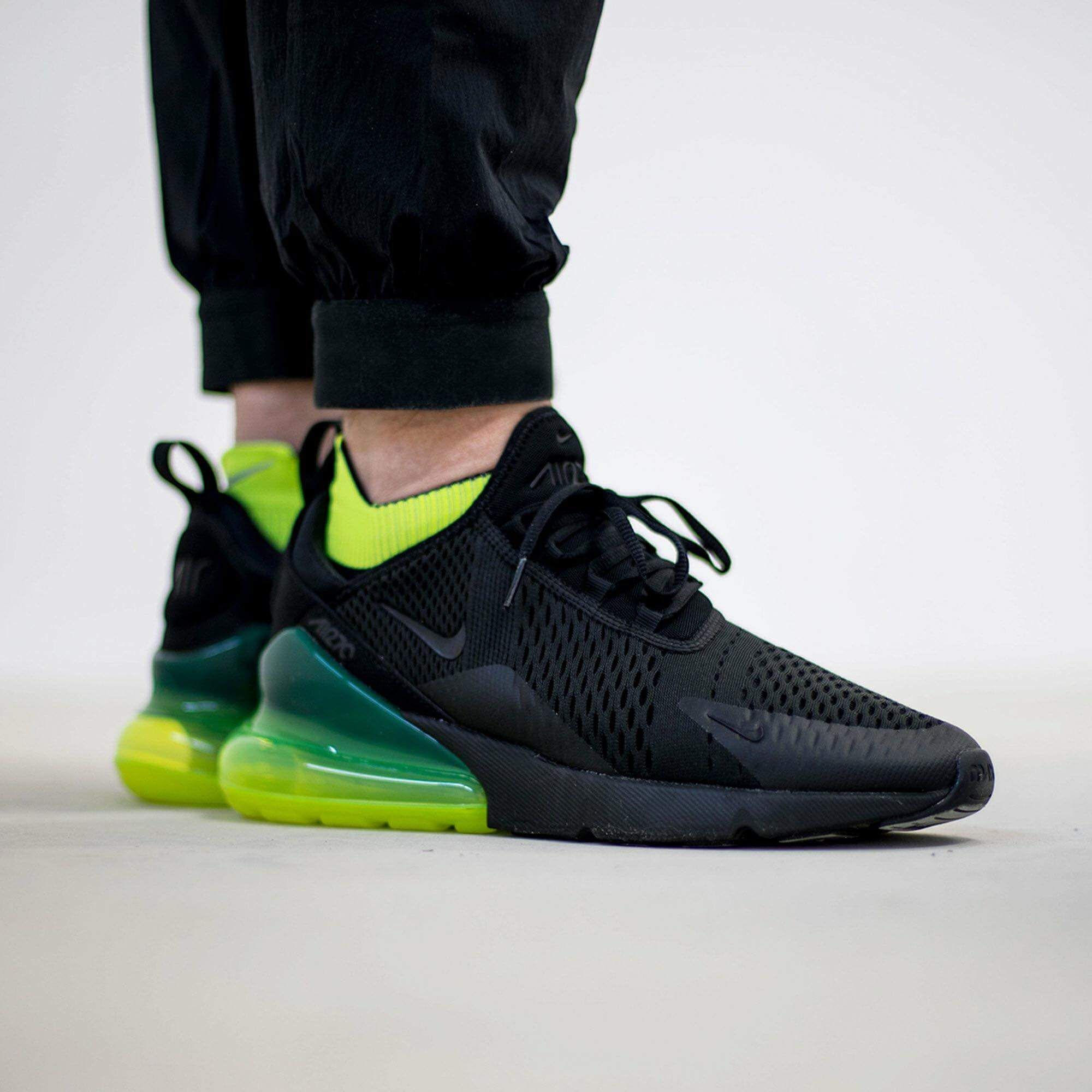 newest collection e2b40 9a11b NIKE AIR MAX 270 NEON GREEN BLACK VOLT TRAINER AH8050 011 ...