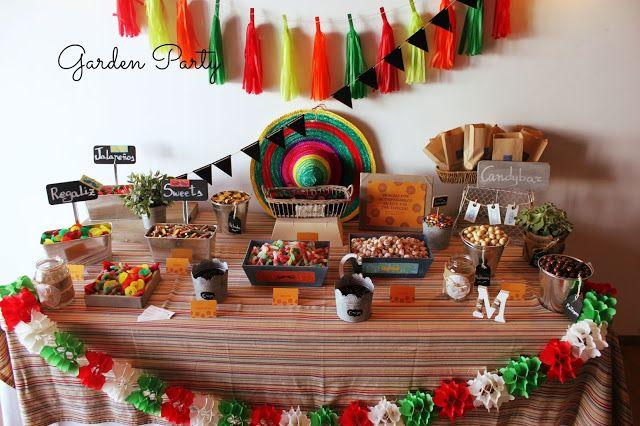 Mesa dulce mexicana decoraci n kerm s m xico pinterest dulce mexicano mesas dulces y for Decoracion kermes mexicana