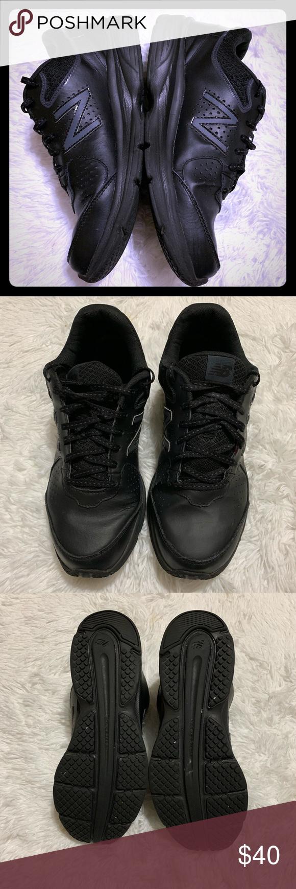 Women's size 11 New Balance Black Walking Sneakers New