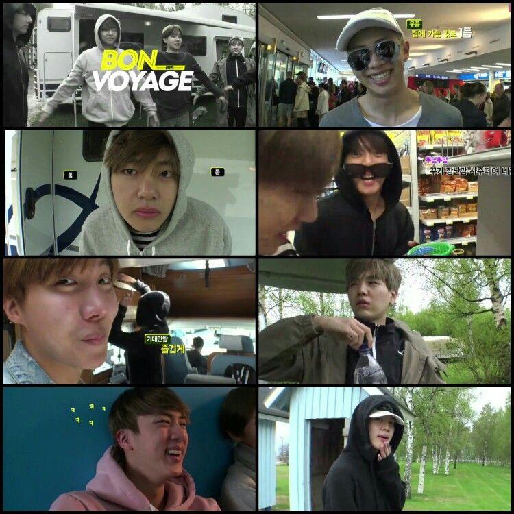 #BTS #방탄소년단 ❤ Bon Voyage Episode 6.