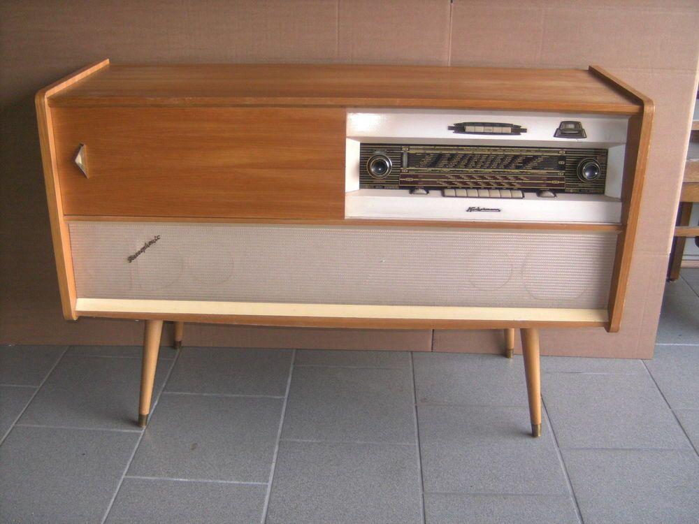kommode stereo musikschrank sideboard r ster hell 50er