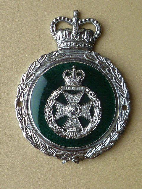 Automobilia Badges & Mascots British Union Jack Flag Enamel Kings Crown Classic Car Badge Auto Mascot