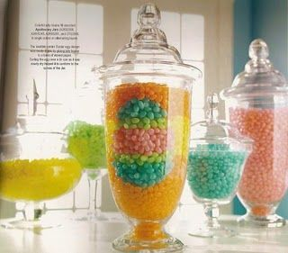 So beautiful, I wonder how difficult it is to place the jellybeans. #easter
