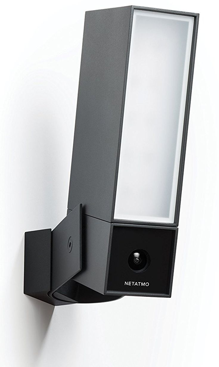 Flood Light Security Camera Alluring The Netatmo Presence Is An Outdoor Security Camera And Floodlight Decorating Inspiration