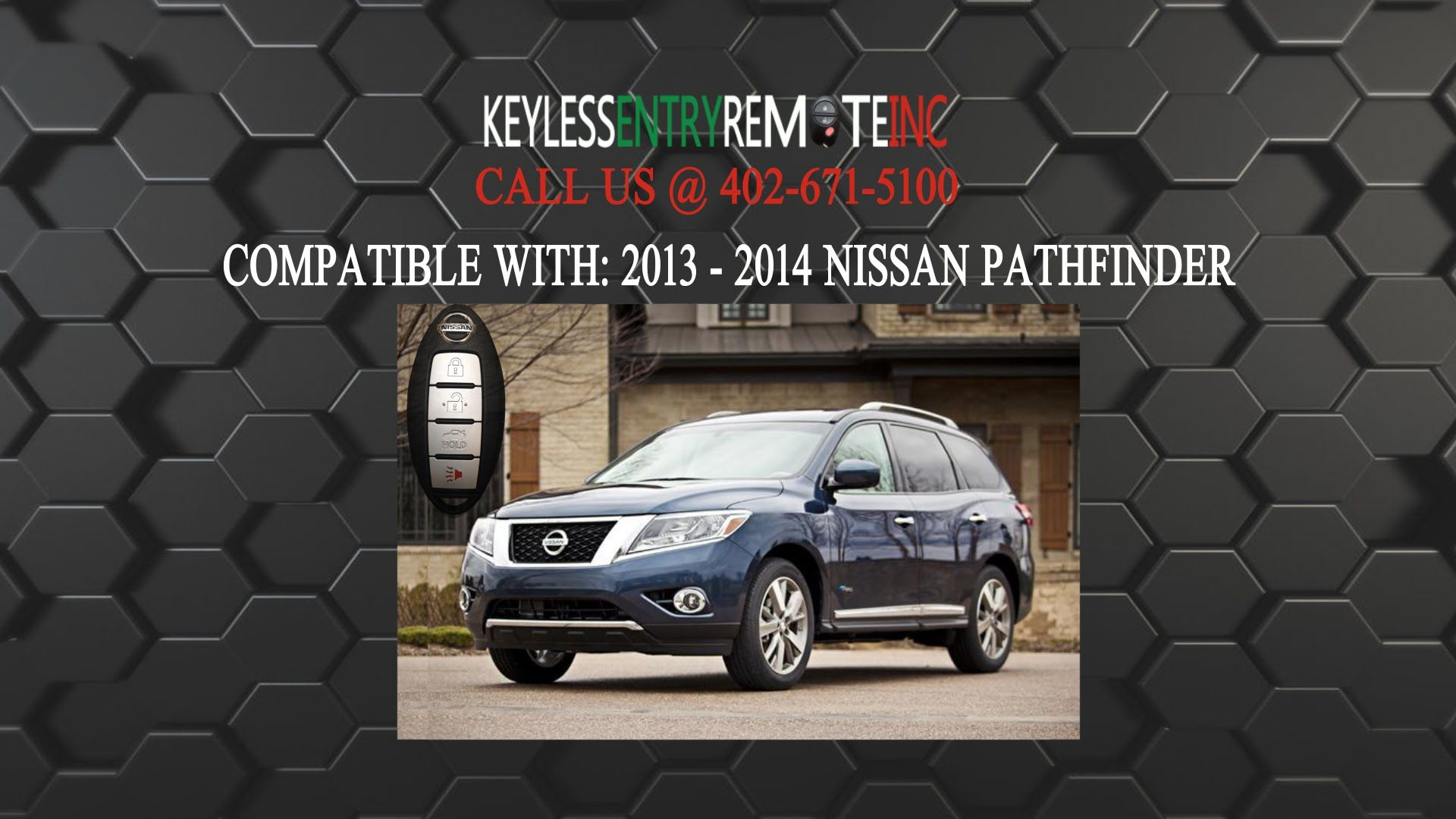 How To Replace A 2013 Nissan Pathfinder Key Fob Battery