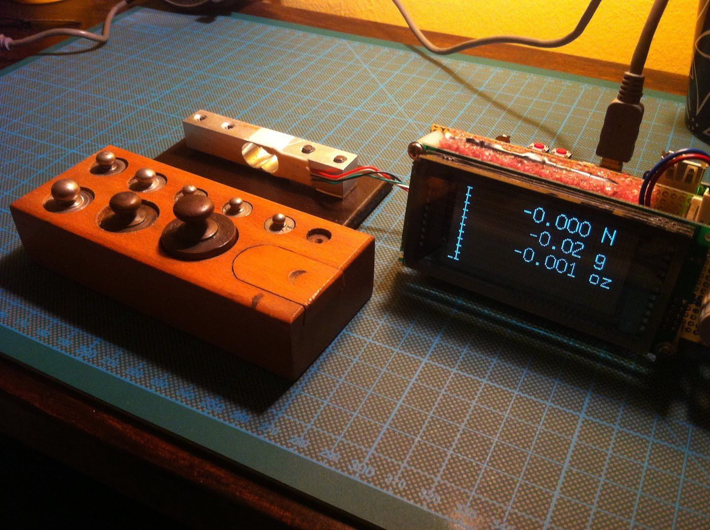 Arduino Based Digital Scale With Hx711 And Vfd Display Geeking Out Electronics Projects
