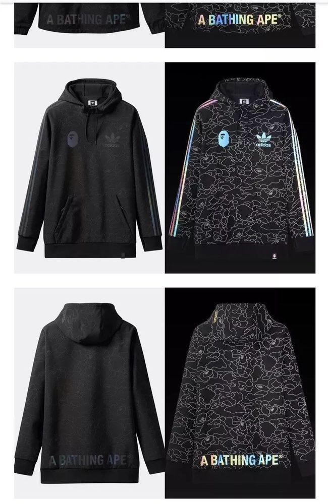 adidas x BAPE Snow Jacket DU0202 US M XL | eBay