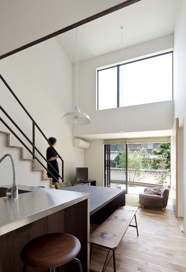 compact wooden home with japanese details for young couples 7