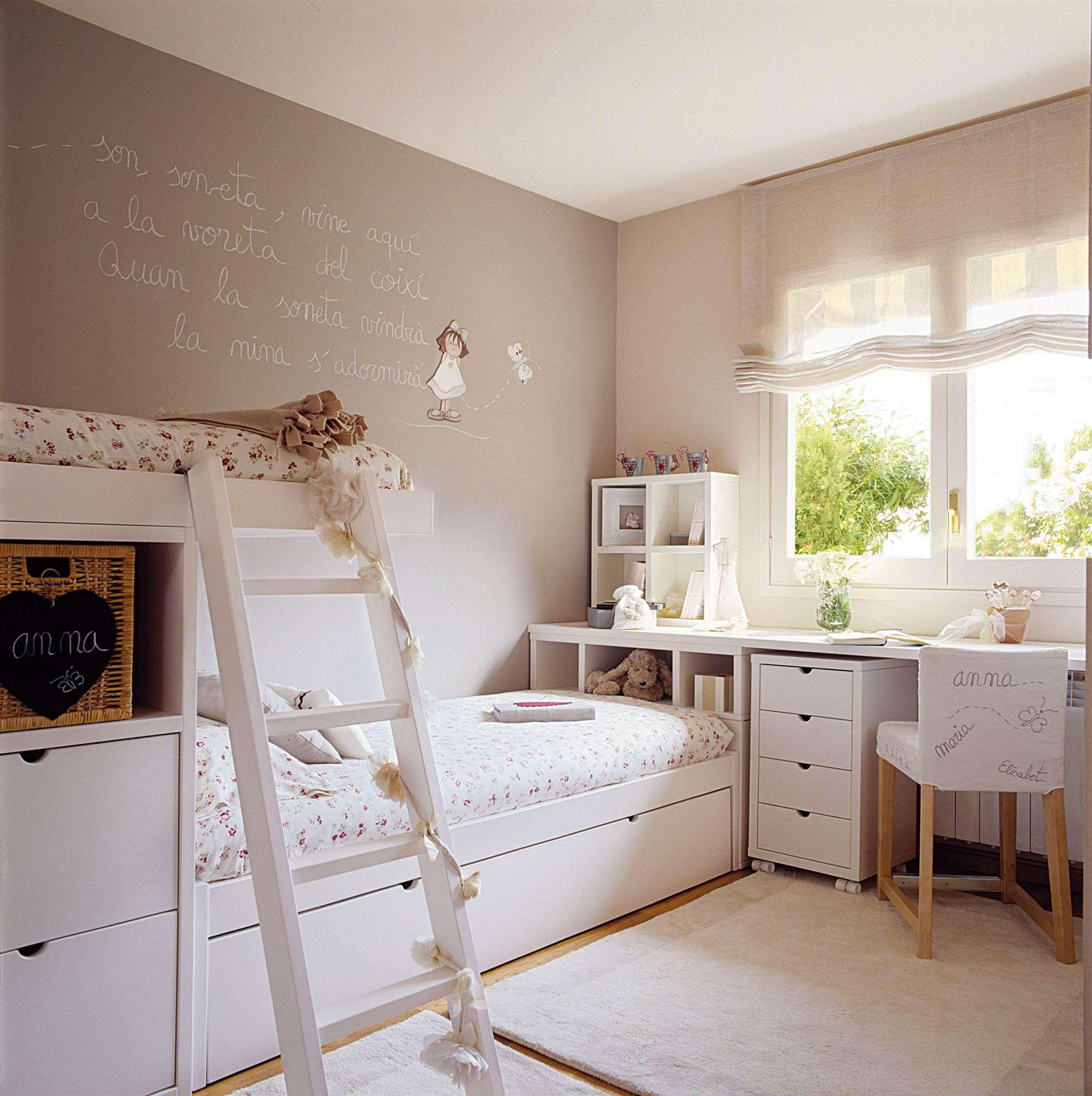 Buen uso habitaci n juvenil cuarto ni a recamara y - Habitacion juvenil nina ...