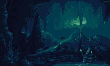 The Road To Freedom Pixel Art Background Art