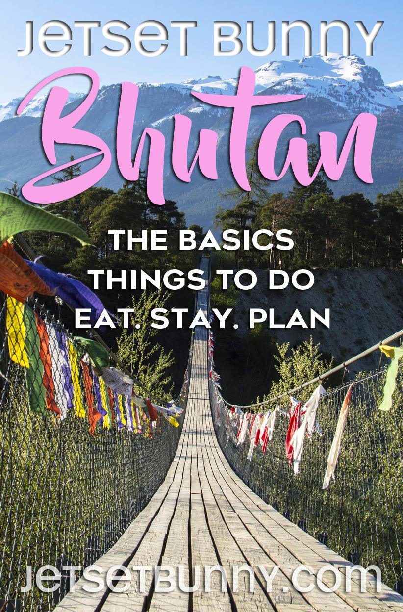 Bhutan travel tips & advice for solo female travelers in Bhutan, South Asia