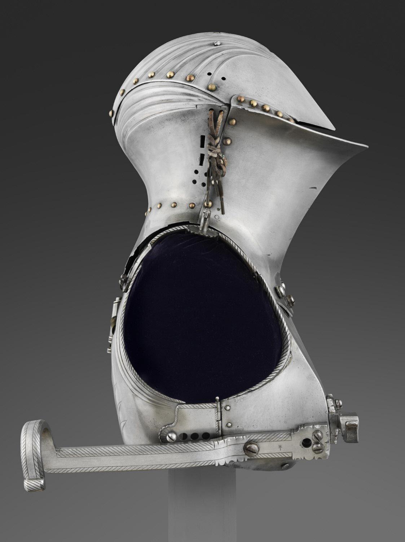 Augsburg armour gothic helmets medieval