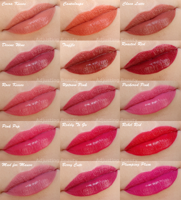 Review Of Avon Mark Plump It Lipsticks All Shades My Reviews In