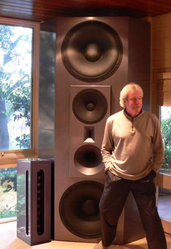 Man-size speakers from Lenard Audio - CNET