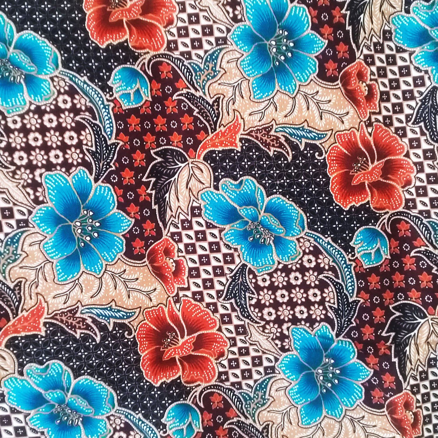 Thai Sarong,Thai Batik,batik Sarong Fabric,cotton 2 Yards