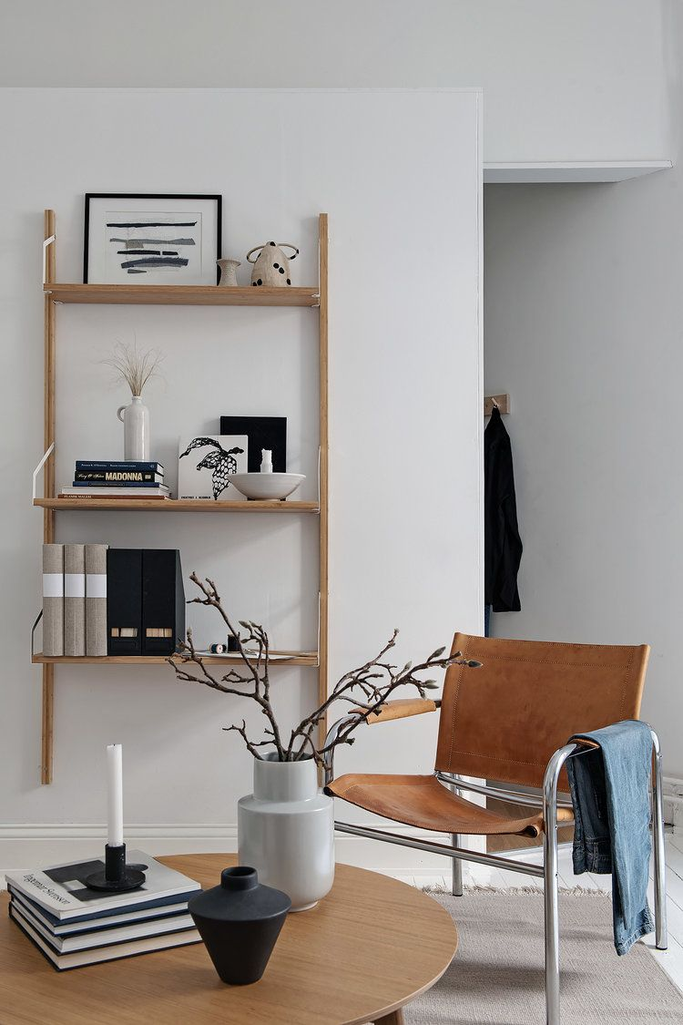 Aug 28 A Bright Studio With Nordic Styling Design Interior Design Decorazioni