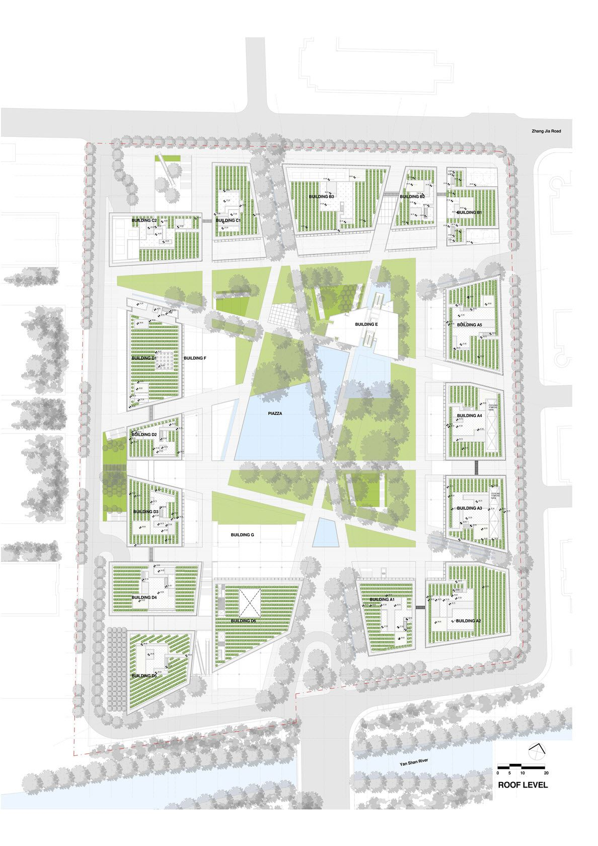 Projects By Type Jnby Headquarters Project Urban Landscape Design Landscape Design Plans Landscape Architecture Plan