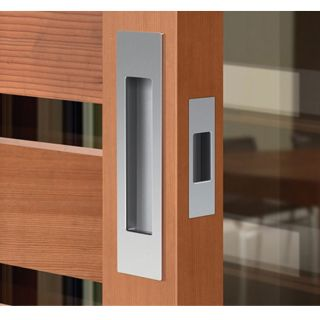 We've got some really beautiful sliding door hardware available