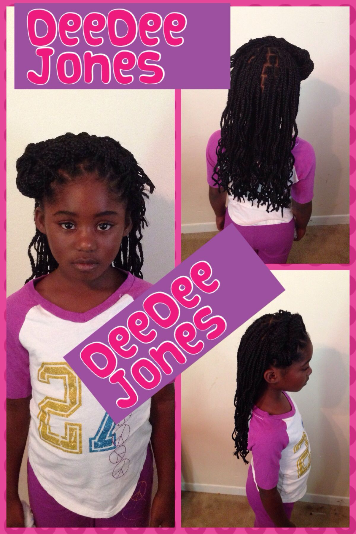 Singlesbox braids for little girls little girl hairstyles