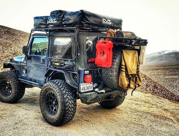 Ready For Action Jeep Wrangler Camping Jeep Yj Adventure Jeep