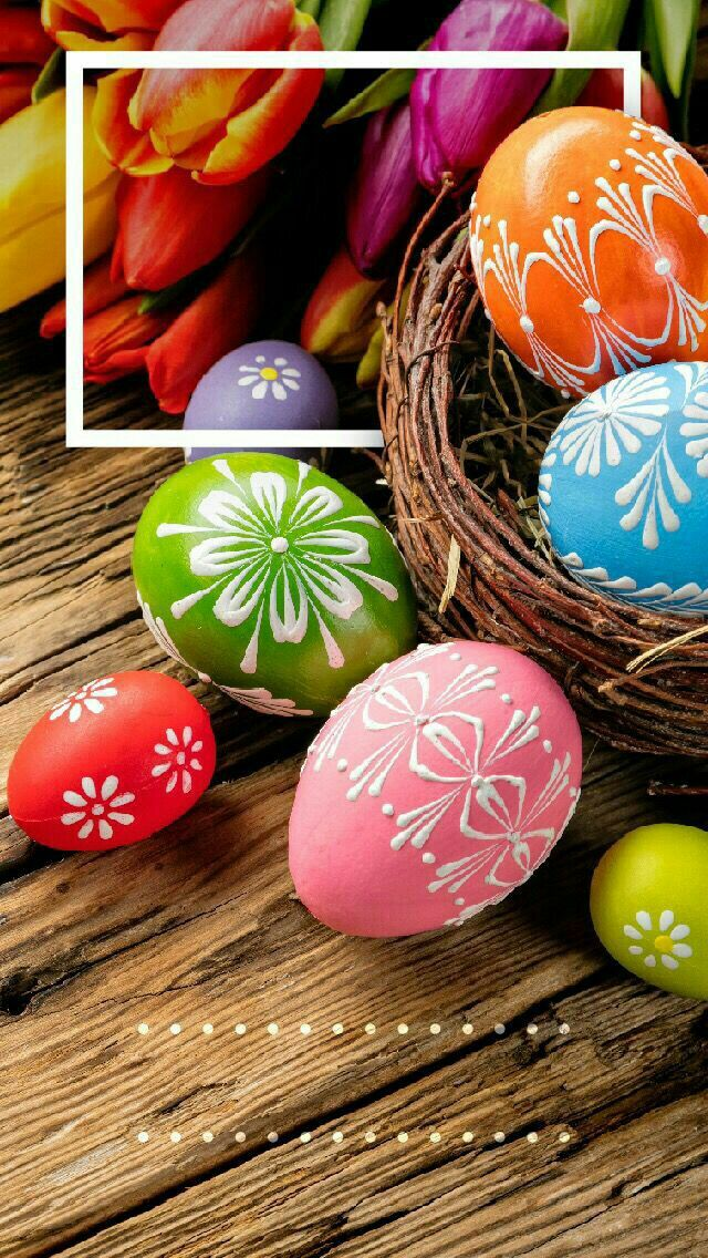 Lovely Easter Eggs Wallpaper