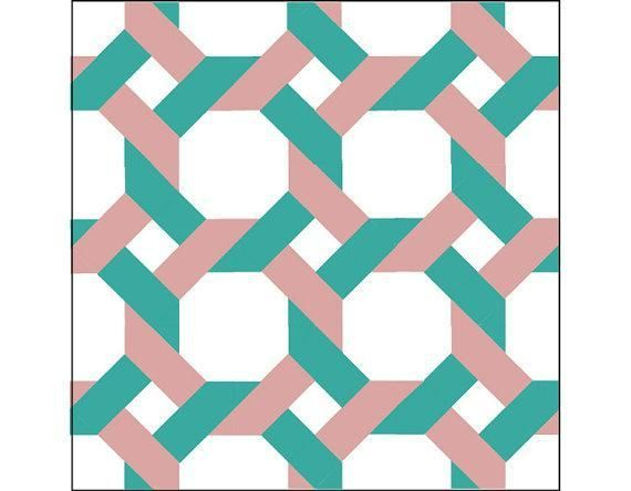 Garden Trellis Quilt Pattern 12 block Patterns and Patchwork