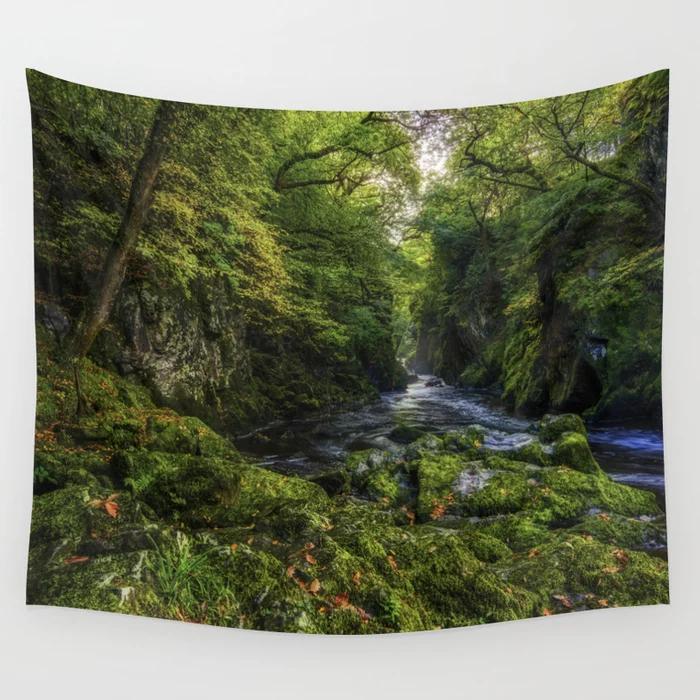 Fairy Glen Wall Tapestry By Ianmitchell Society6 Tapestry