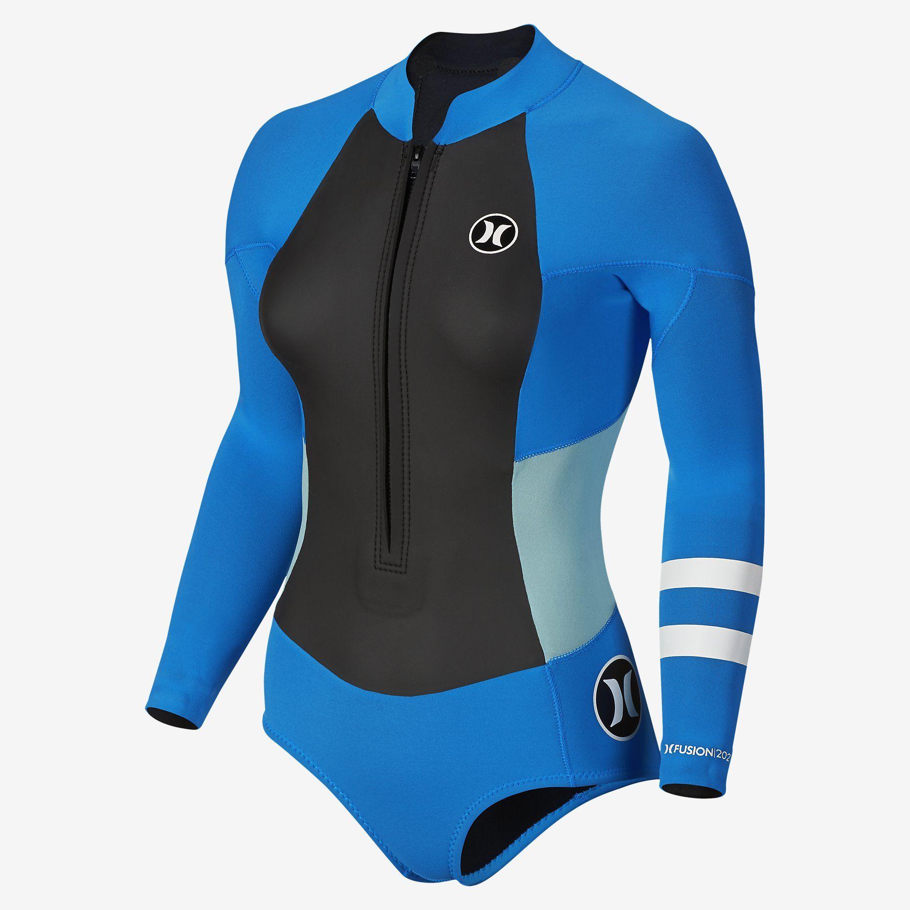 62b0778957 Hurley Fusion 202 Front Zip Springsuit Women s Wetsuit. Nike Store ...