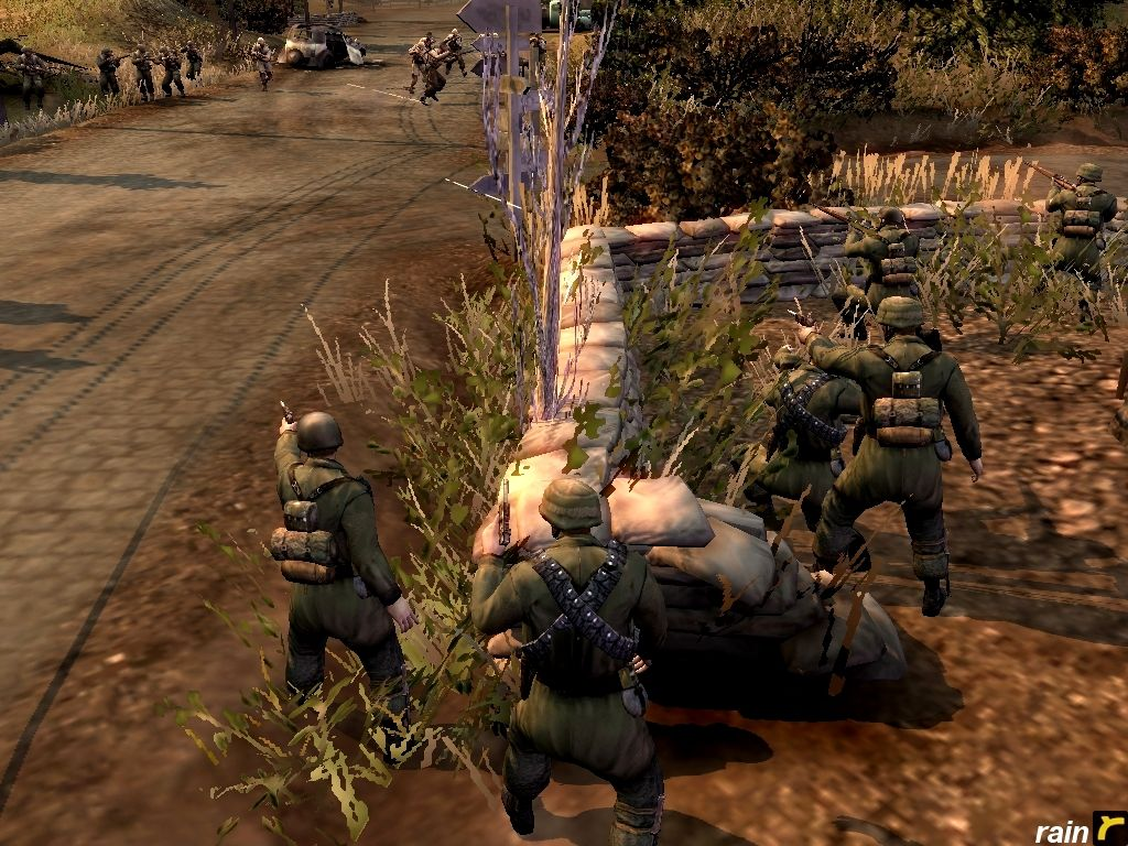 Company of Heroes, my In-game Screenshots  Operation Fall Rot