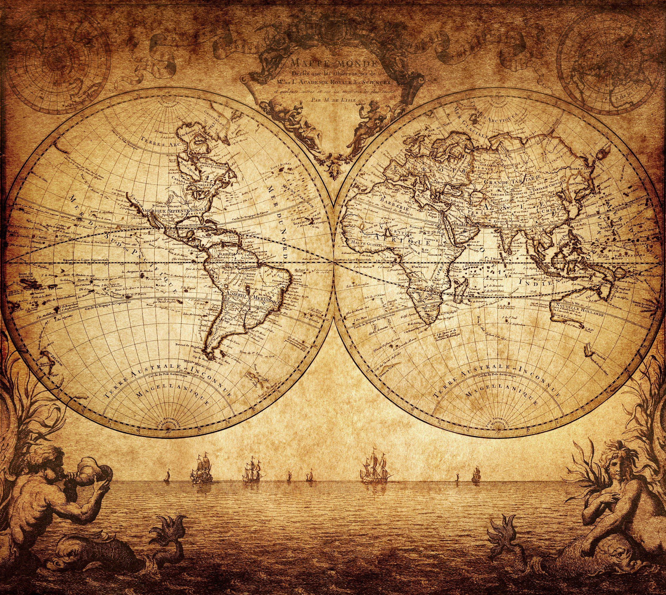 Poster Cartina Geografica Mondo.Cartina Geografica Mondo Vintage Ar Geografia Mondo Mappe