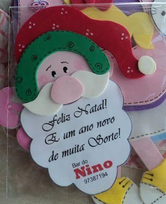 Gosta de fofuras?: Pensando em Natal!