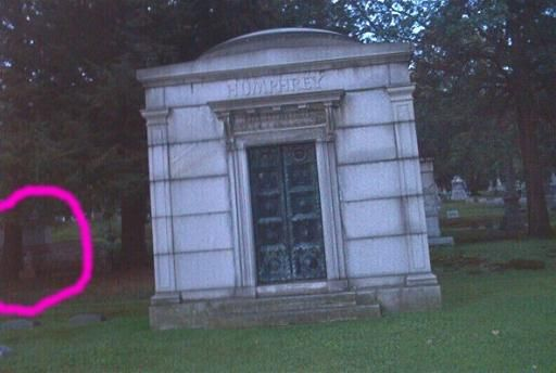 It Was Taken At Lakeview Cemetery, In Jamestown, NY. It Was A Clear Day,  About 5pm    About 65 Degrees.