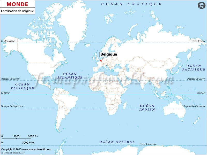 localisation de la belgique sur la carte du monde pays. Black Bedroom Furniture Sets. Home Design Ideas