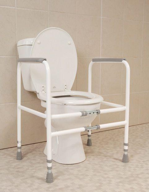 Width Adjustable Toilet Frame Elderease Elderly Products Toilet Bathroom Safety
